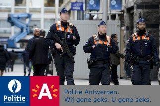 Antwerpse politie beschermt democratische burgerrechten door wietrokende komiek aan te houden | Het beleg van antwerpen