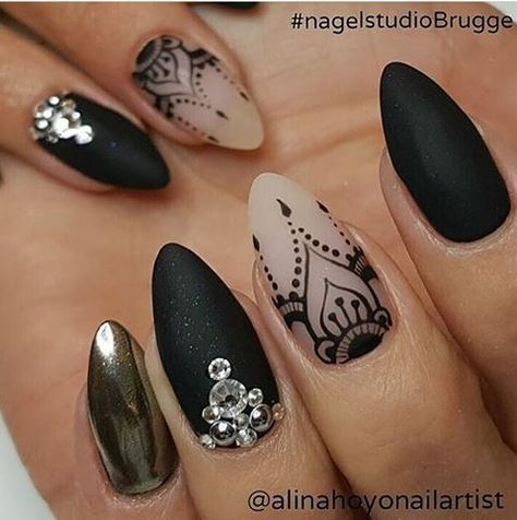 The 25 best lace nail design ideas on pinterest lace nail art give yourself a bold and daring manicure with these stiletto nail designs whether you fancy donning a unicorn horn graffiti lace nail art white roses or prinsesfo Images
