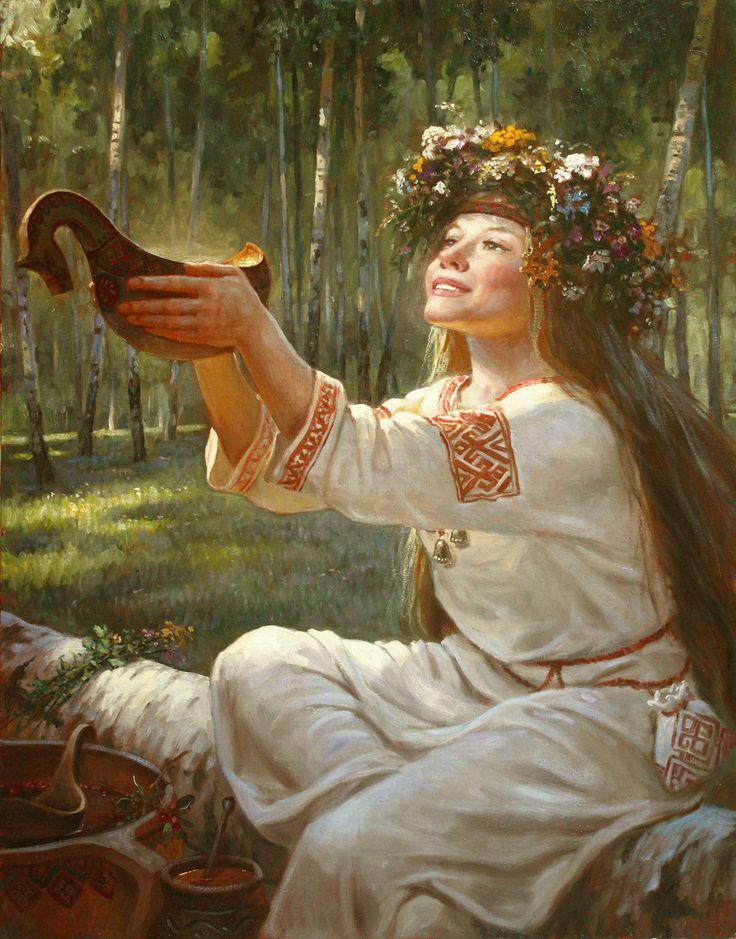 Сурица – картина художника Андрея Шишкина