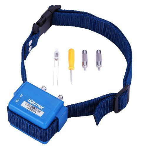 The DOGTEK BC-60 Bark Control Collar combines sound beeps with optional strong and weak static impulses for a proven and safe formula. $33.99