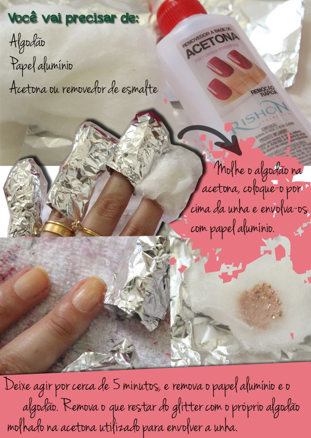 retirar-esmalte-glitter