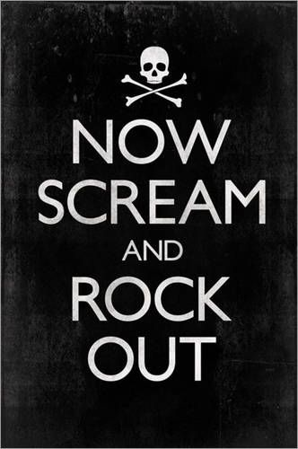 Rock Out & scream