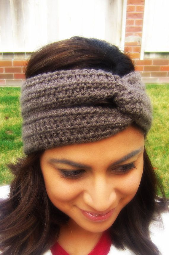Crochet Turban Headband Crochet headband Crochet by ...