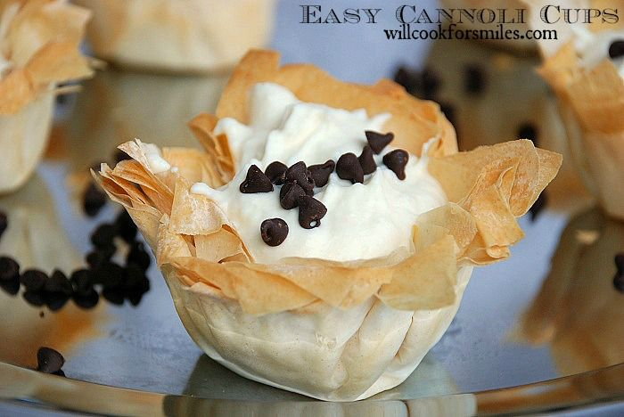 Easy Cannoli Cups and Family Night with Stouffer's, Nestle and Ice Age 4, #time4family