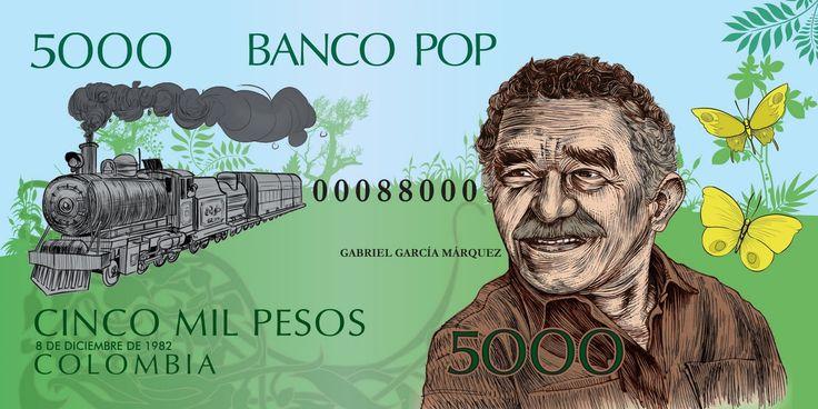 uno de los billetes del monopolio...