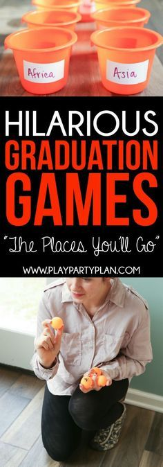 Looking For Things To Do At A Graduation Party These Games Are Some Of The Best Ideas Ever Theyre Perfect College High School