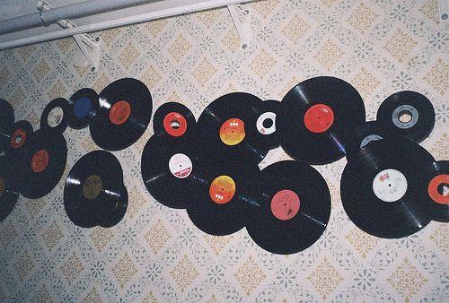 17 Best Ideas About Vinyl Records Decor On Pinterest