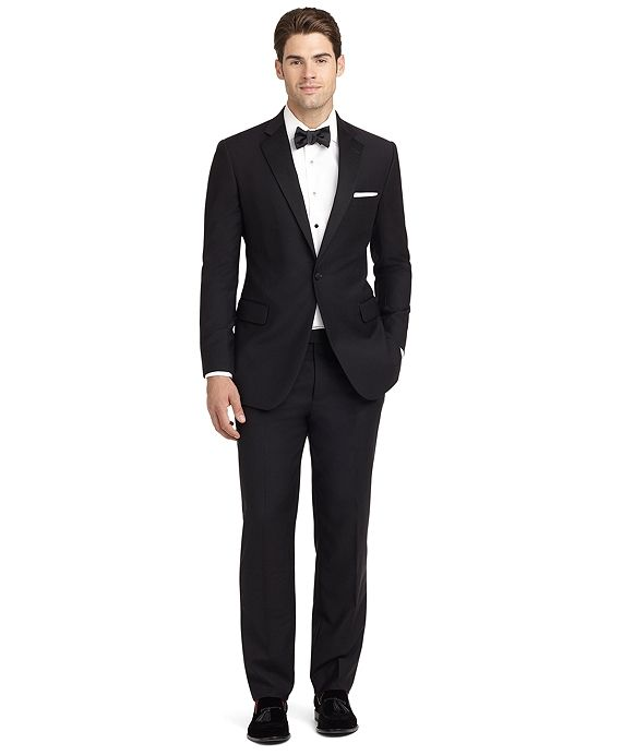 Ready-Made Regent Fit Tuxedo JacketBlack