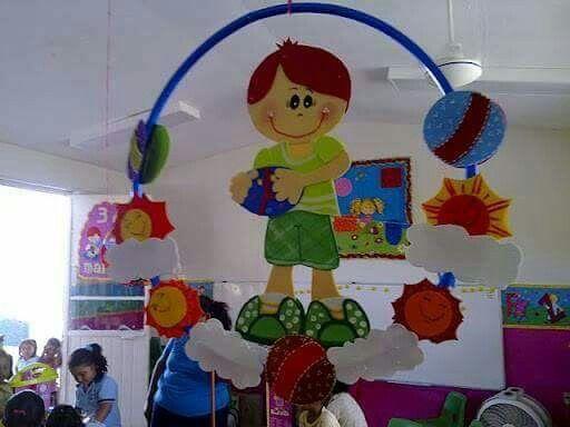 Decoração com bambolê