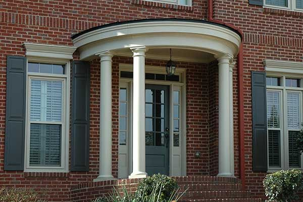 21 best rounded semi circular porticos images on for Georgia front porch