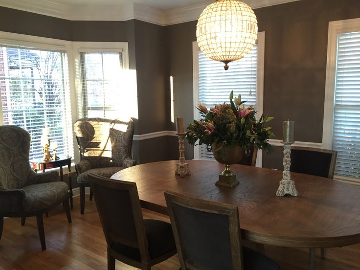 ArhausShadyside Pittsburgh Leighton Natural Dining Table Adele Weathered Finish Side Chairs W Grey Velvet Seat Pads Portsmouth Arm In G