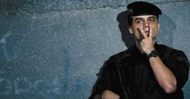 Wagner Moura como Capitão Nascimento de Tropa de Elite