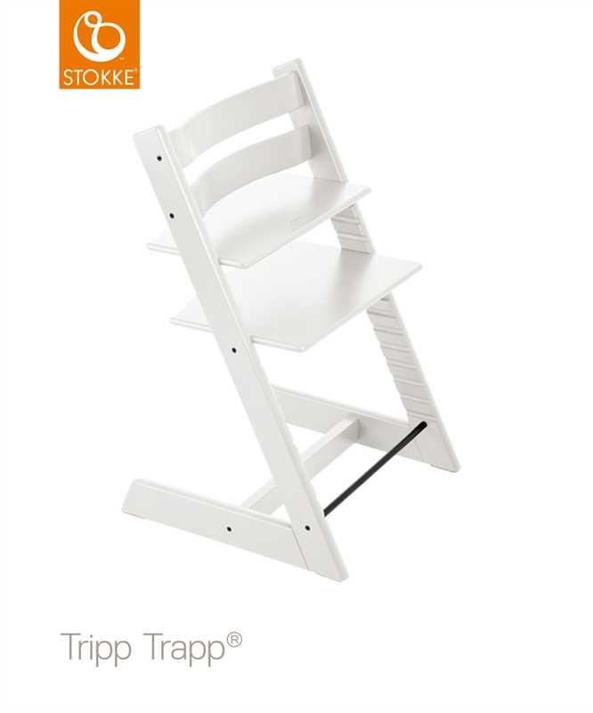 Stokke Tripp Trapp, Matstol, White