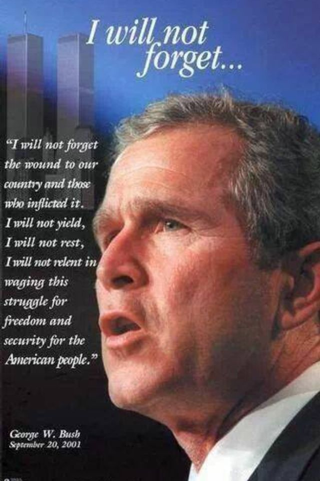 By George W Bussh Quotes About 911. QuotesGram