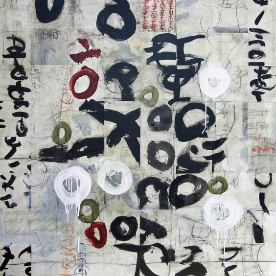 art journal - expression through abstraction — artpropelled:   Laura Wait