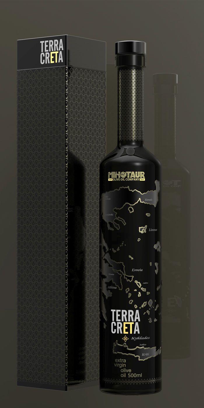 Terra Creta: Wine, Olive Oils, Package Design, Packaging Design, Packaging Inspiration, Terracreta Olive, Olive Oil Bottles, Olives