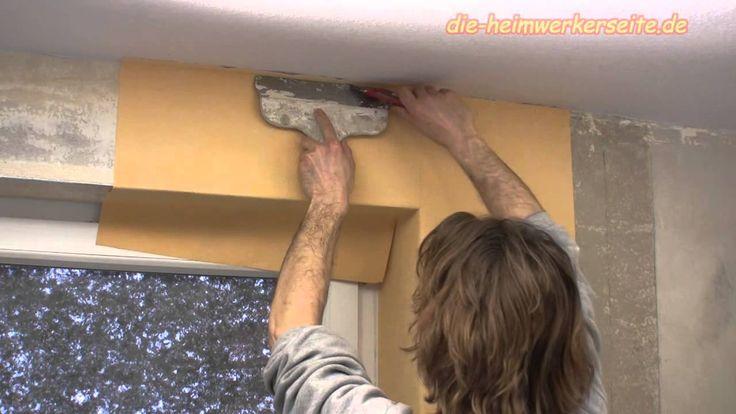 Vliestapete Fensterlaibung Tapezieren Und Fensternische