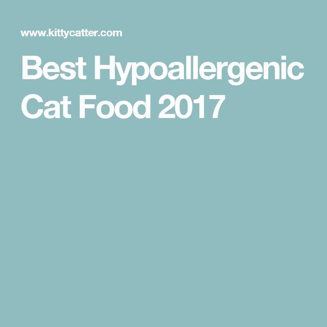 Best Hypoallergenic Cat Food 2017