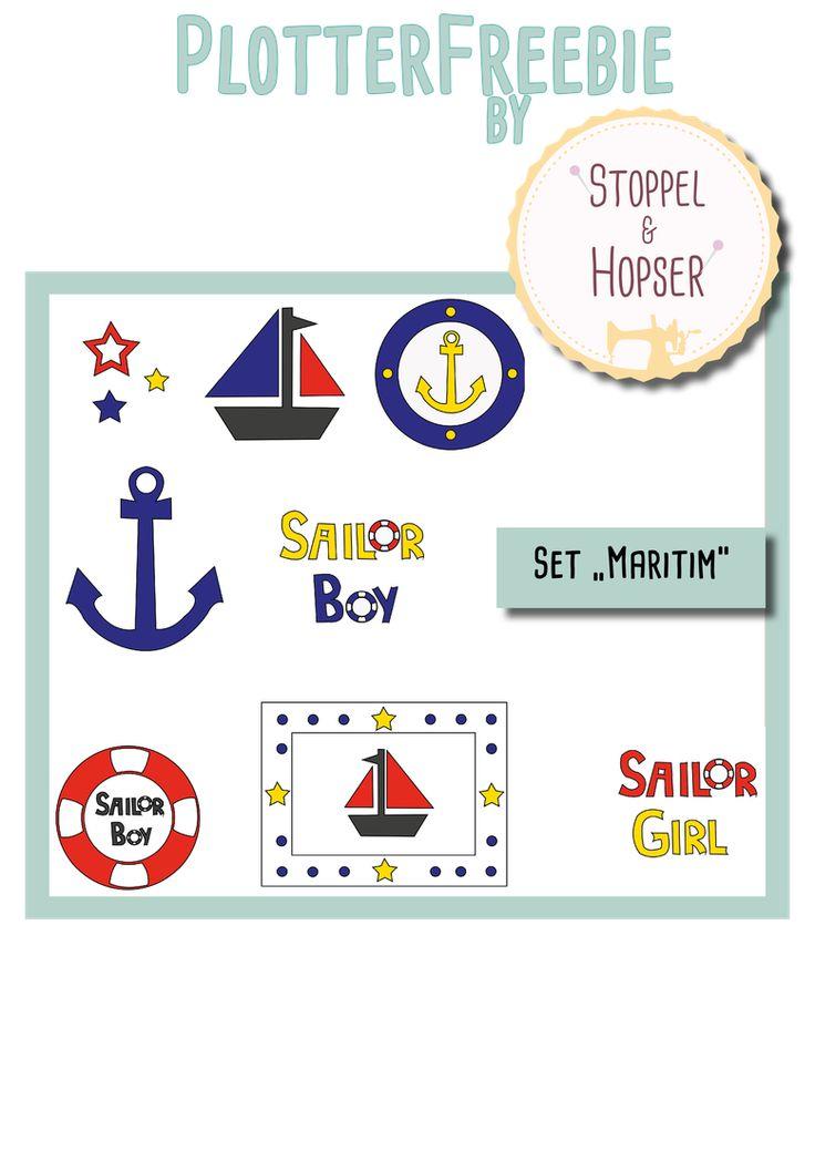 Freebie-Set Maritim - stoppelundhopsers Webseite!