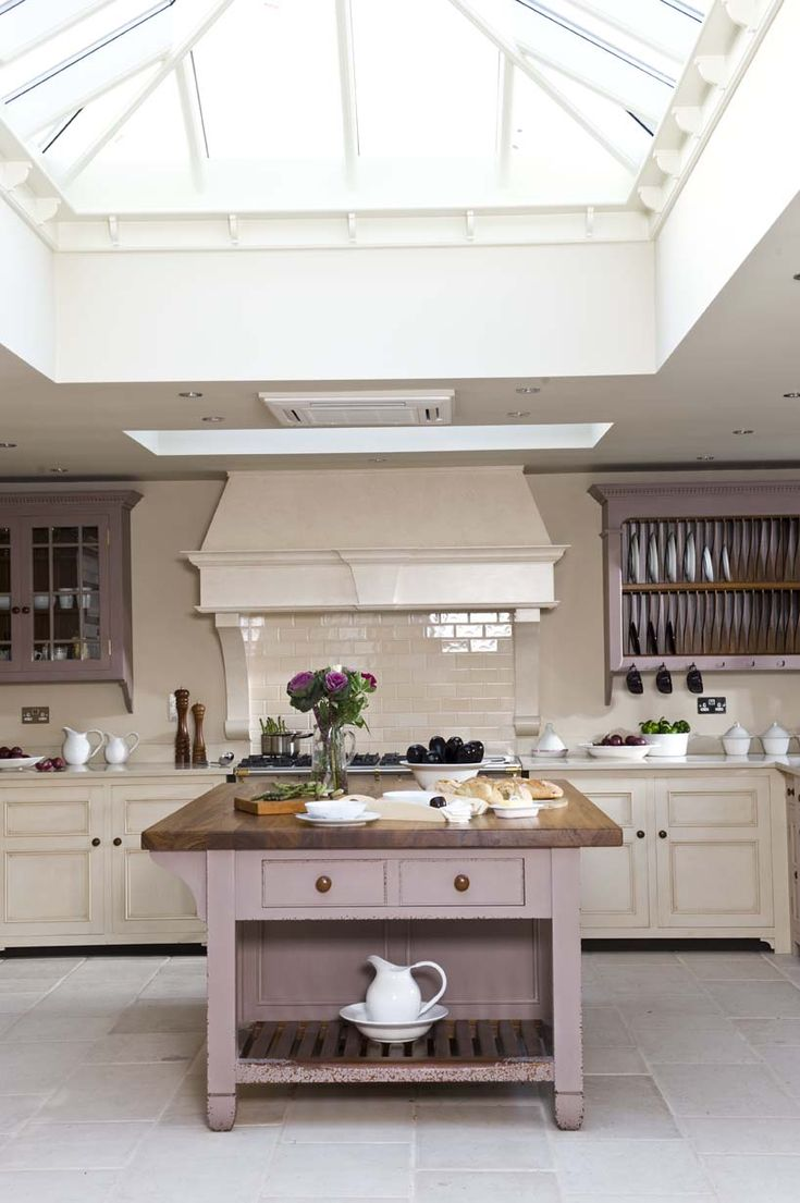 Chalon Kitchen with magnificent roof lantern