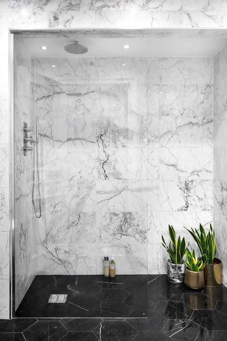 Master Marble Walk In Shower Room In 2020 Marble Bathroom Designs Black Marble Bathroom Marble Bathroom Floor