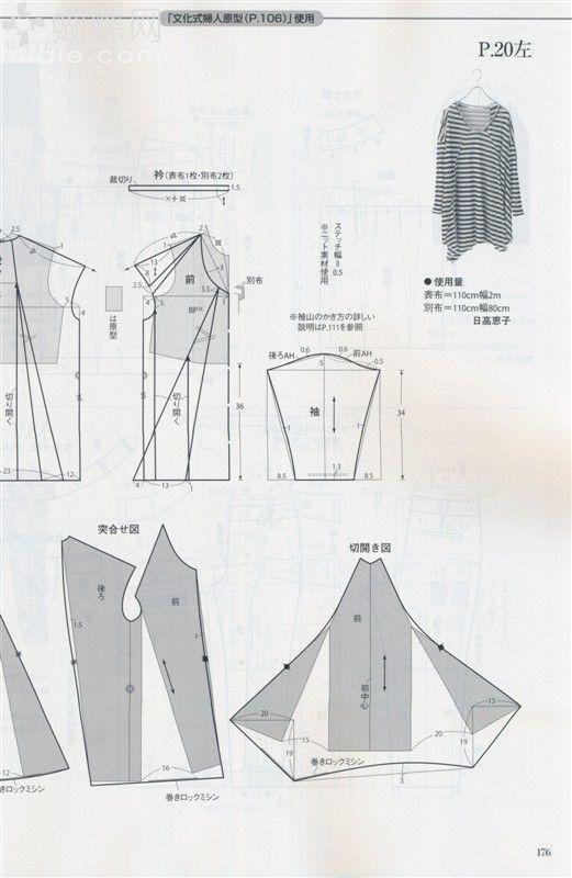 Patroontekening - Drawing Pattern ~Tuniek~