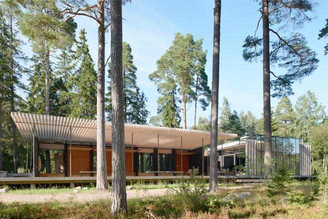 Skogssauna, Tomtebo Träpriset 2012, nominerat Kasper Salin-priset 2011, nominerat