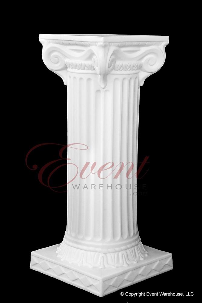 88 White Wedding Columns