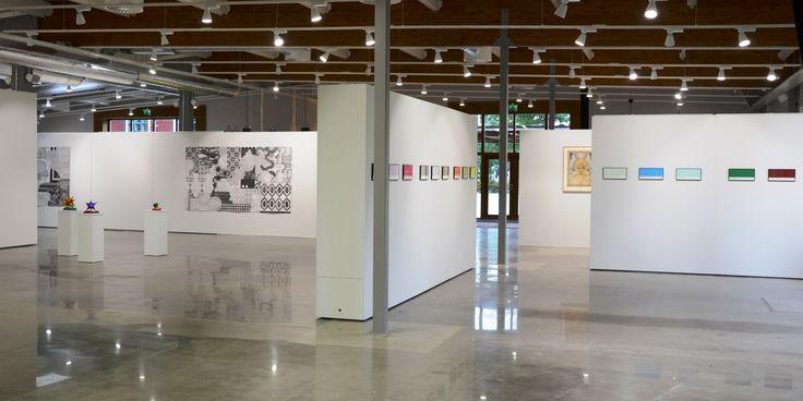 Finished hanging process of our latest exhibition: 13 är ett Lyckotal – Samtidskonst från Sverige. (engl. 13 is a lucky number – contemporary art from Sweden)