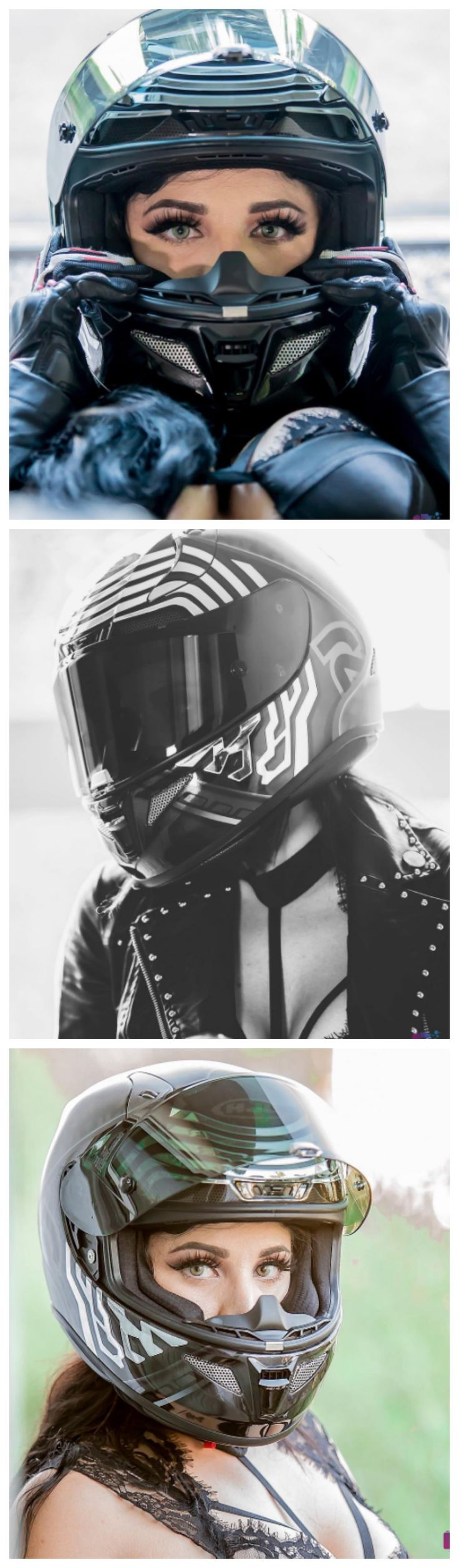 Kylo Ren Motorcycle Helmets Photo: @badbugi