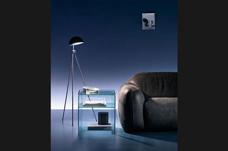 GlazenDesignTafel.nl | FIAM Design bijzettafel Milo | by Ilaria Marelli | Italian Design | vidre glastoepassingen, Leiden | vidre.nl