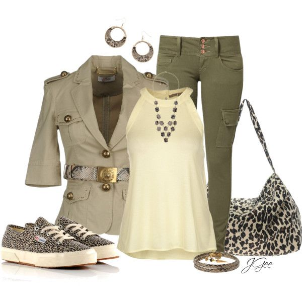 """Leopard Print Trainers"" by jgee67 on Polyvore"