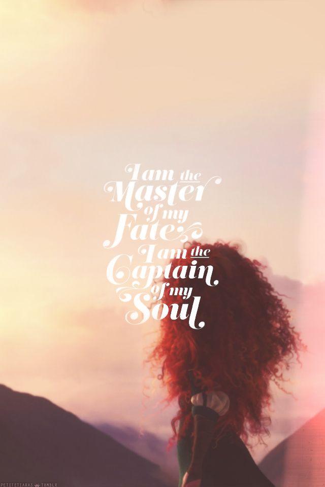 Merida Quote Brave Disney quotes, Disney background