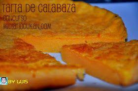 Mi Diario Dukan: CONCURSO - Tarta de Calabaza by Luis - * Repostería Dukan *