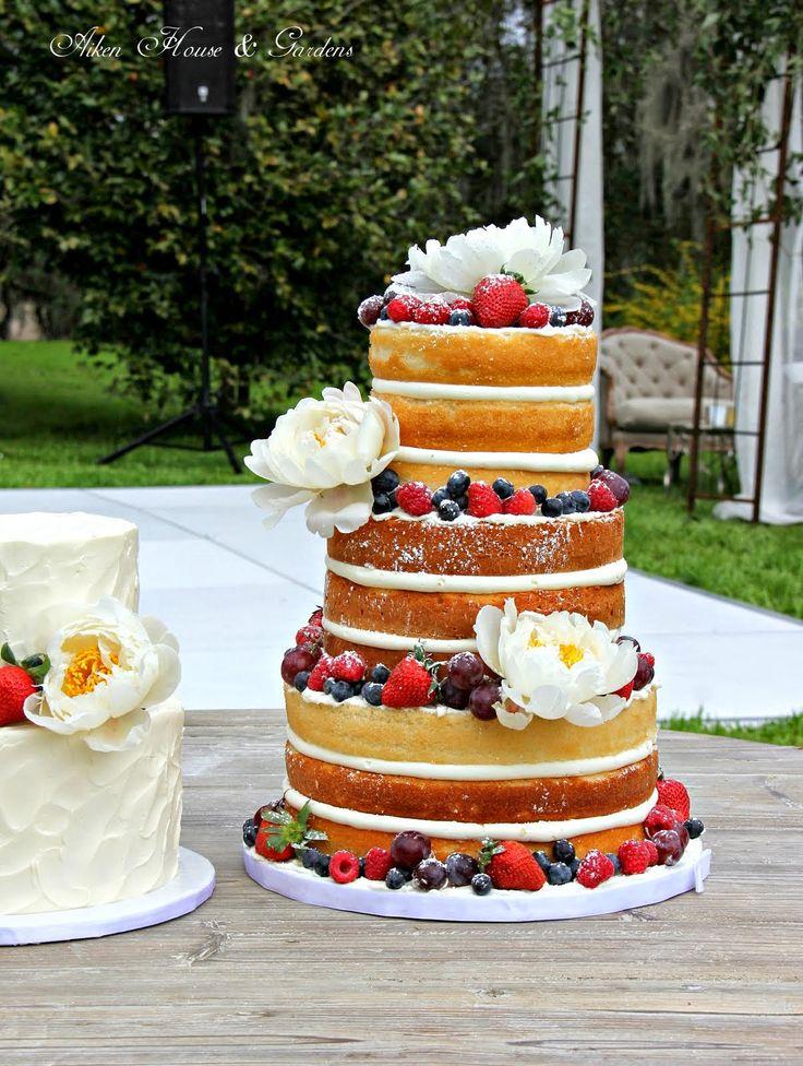 ... Naked Cakes auf Pinterest  Hochzeit, Kuchen und Hochzeitstorten
