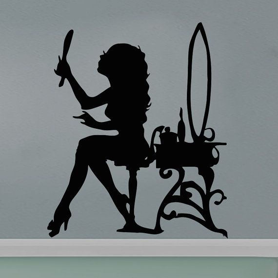 93 best beauty salon images on Pinterest Beauty salons Wall