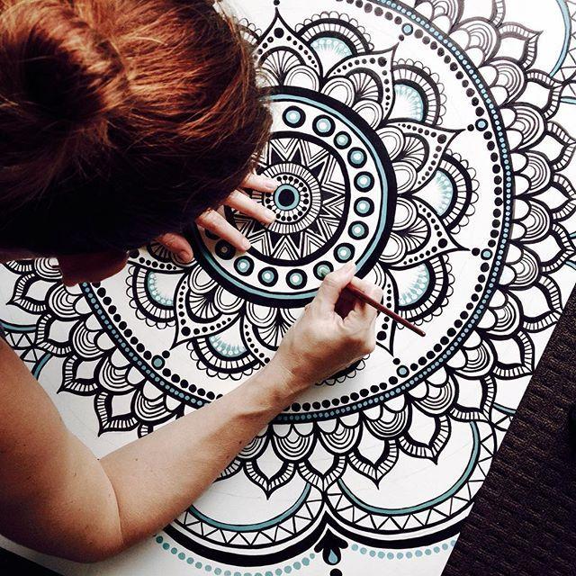#art #artist #mandala #boho #bohemian #bohodecor #bohostyle #bohochic…