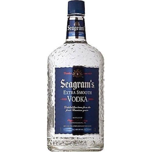 Seagrams Vodka • (Plastic Bottle)