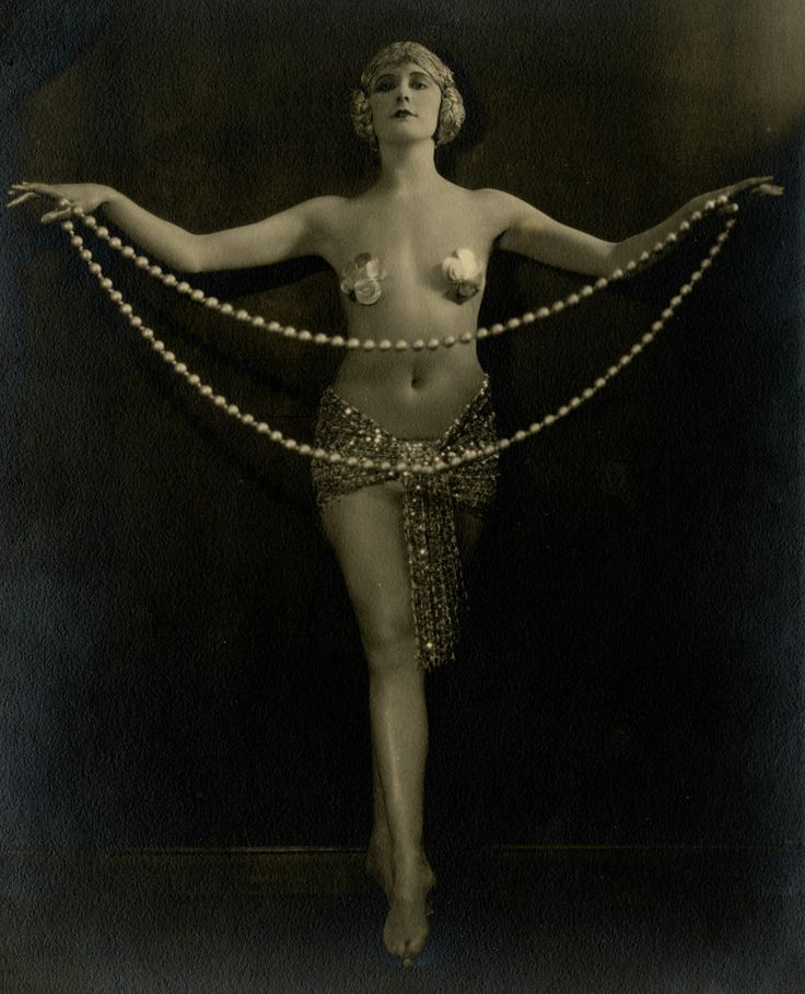 Naughty Flapper Photo, ca. 1920s