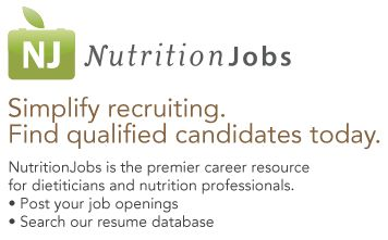 """NutritionJobs has been successfully helping Registered Dietitians and Nutritionists find jobs with top employers in the fields of dietetics and nutrition since 2000."" (website excerpt)"