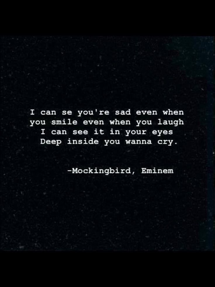 Fake smile, real tears