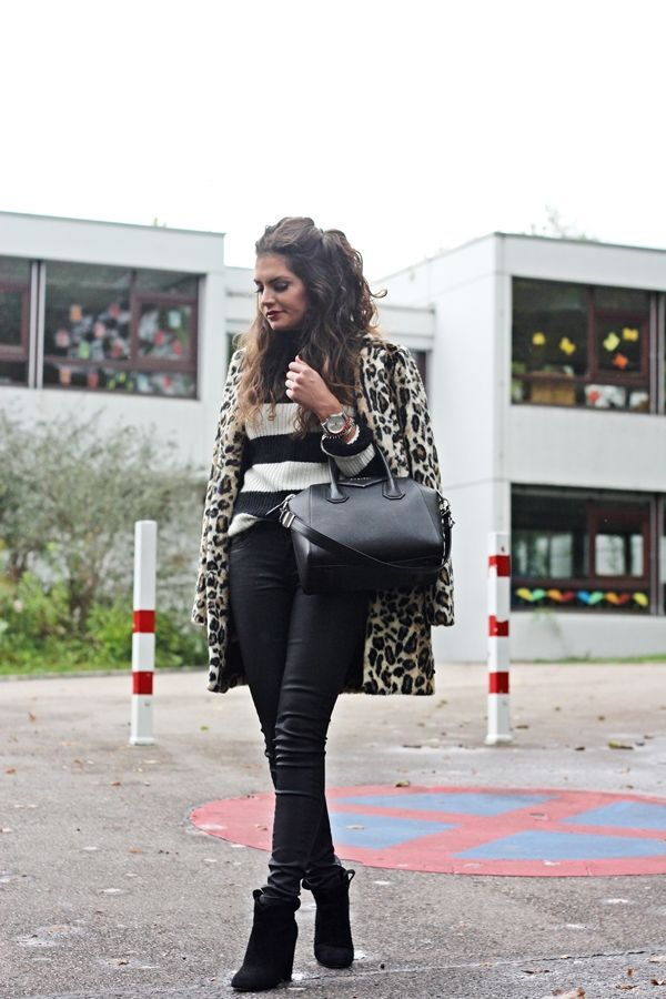 the perfect leo coat by Pepe Jeans (via Bloglovin.com )