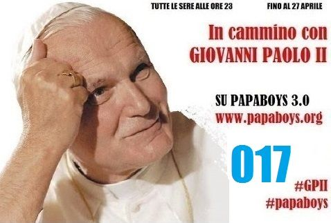 LIVE web TV - h.23 - In cammino con Giovanni Paolo II 017 #papaboys