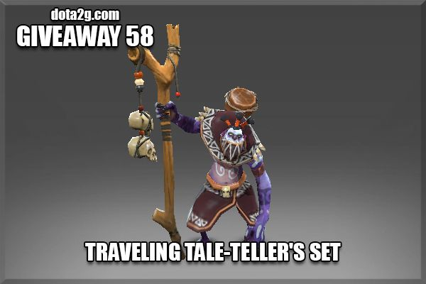 Giveaway 58 - Traveling Tale-Teller's Set