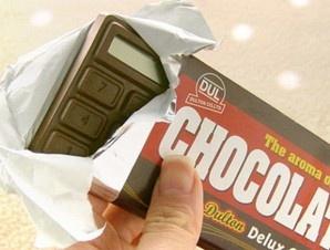 Calcolatrice cioccolata