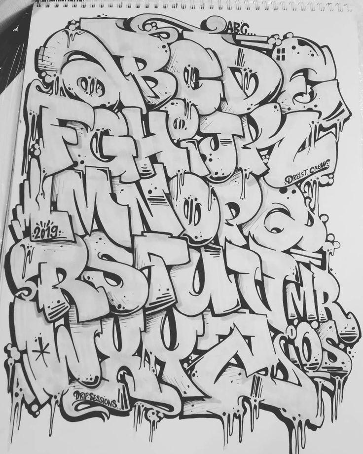 этом разделе картинки граффити алфавит карандашом поставить только