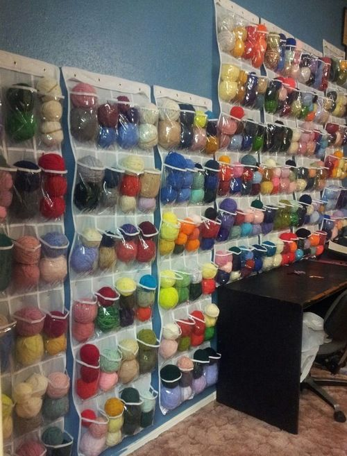 Great way to organize for Crochet lovers                                                                                                                                                                                 More