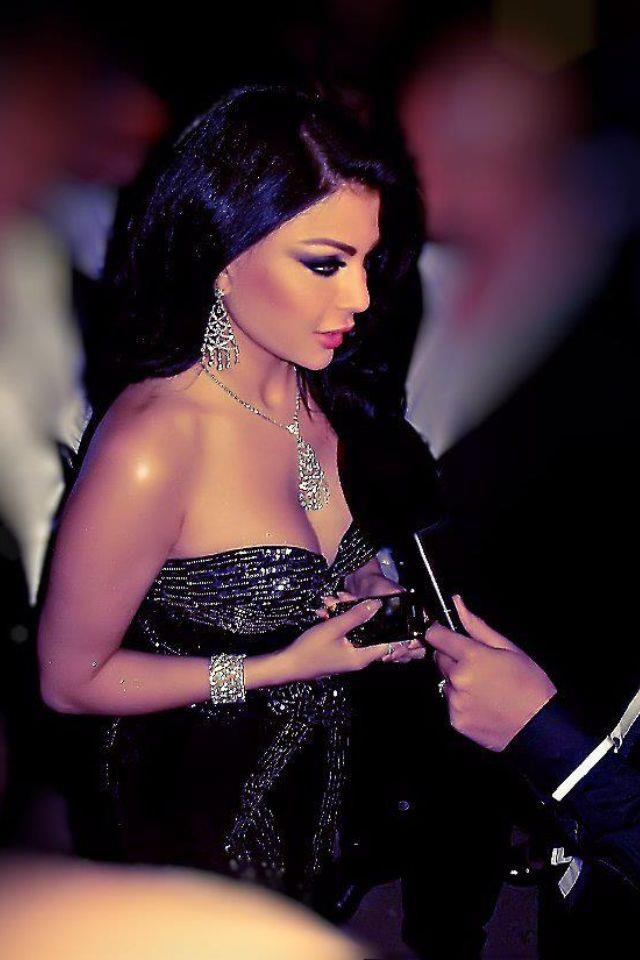 Haifa wehbe hair and make up