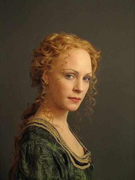 braided Renaissance hairstyles                              …