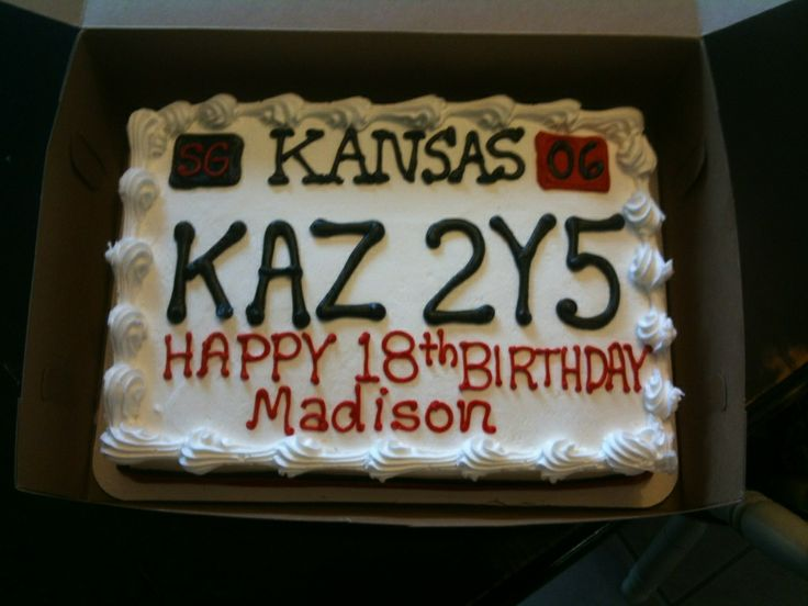 Found this whilst searching for ideas for my brother's 18th...Supernatural Birthday Cake - and her name is Madison!